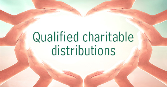 IRA charitable donations are an alternative to taxable required distributions